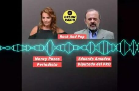 Nancy Pazos refutó a Eduardo Amadeo y se le cayó el libreto PRO