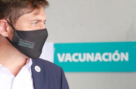 La Provincia de Buenos Aires libera la primera dosis para mayores de 25 años