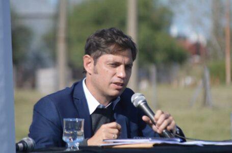 Histórico anuncio de Axel Kicillof de obras para solucionar la crisis hídrica de Bahía Blanca y la región