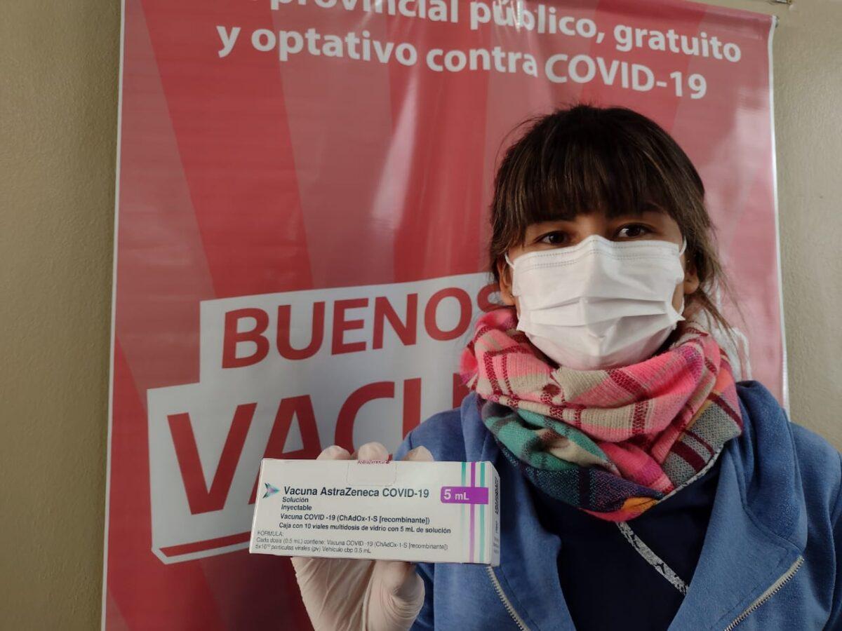 Llegaron 13.200 nuevas vacunas a Bahía Blanca