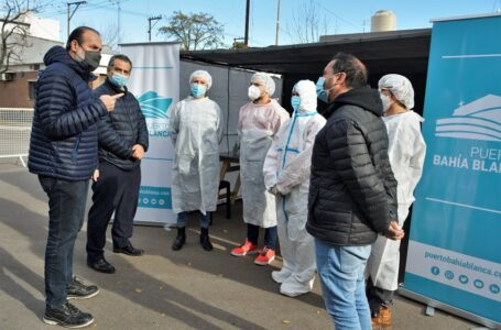 Región Sanitaria habilitó un nuevo centro de testeos rápidos en el puerto