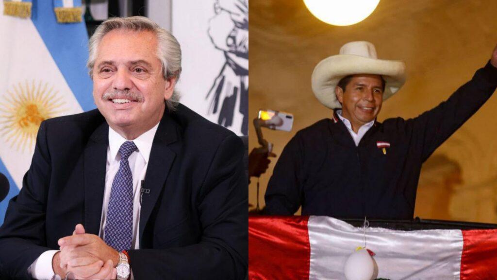 Alberto Fernández viaja a Perú para la asunción de Pedro Castillo