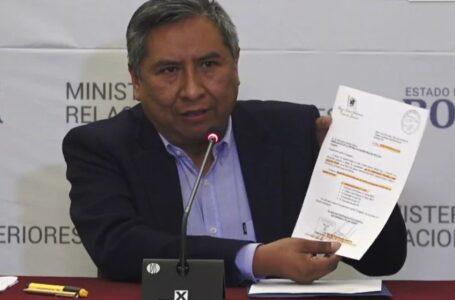 """Envío de armas a Bolivia: """"Una parte fue enviado legalmente y otra parte se hizo de manera ilegal"""""""