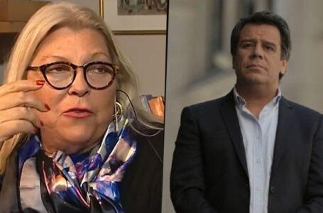 """Carrió durísima contra Manes: """"Para ir al Congreso hay que saber redactar una ley"""""""