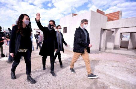 """Kicillof en Pigüé: """"para Saavedra es muy importante que se hayan podido retomar estas obras"""""""